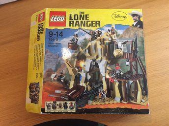 Lego Lone Ranger Silver Mine Shoot Out (79110)