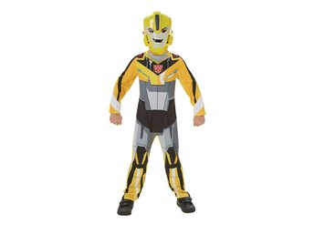 BUMBLE BEE 122/128 cl (7-8 år) TRANSFORMERS Dräkt med mask
