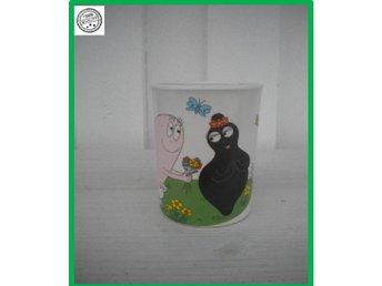 Barbapapa kopp där barbapapa uppvaktar barbamama - Västra Frölunda - Barbapapa kopp där barbapapa uppvaktar barbamama - Västra Frölunda