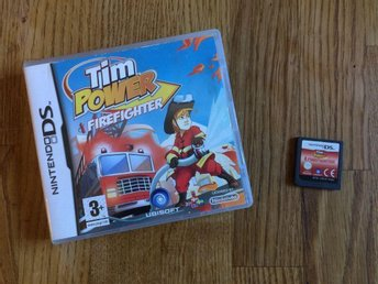 TIM POWER FIREFIGHTER NINTENDO DS  BRA SKICK