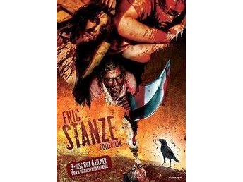 Eric Stanze Collection (3 Disc Box) 6 Filmer.. Ny.. OOP!!