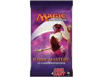 Javascript är inaktiverat. - Norrtälje - Magic Iconic Masters Booster Pack innehåller: 15st Magic Iconic Masters kort inklusive 1st Foil kort Iconic Masters assembles potent cards from Magic's history to deliver some of the most high-powered drafts ever to hit your play tables. Fea - Norrtälje