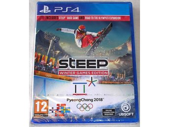 Steep - Winter Games Edition (PS4) --NYTT--