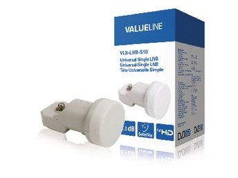 Valueline Universal LNB Single 0.3 dB