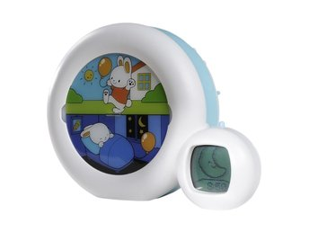 "Claessens'Kids väckarklocka ""Kid'Sleep Moon"" blå 0014"
