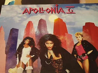Apollonia 6  - med bl.a. Sexshooter  Funk Soul LP 1984
