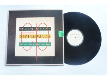 ** Simple Minds ‎– Ballad Of The Streets **