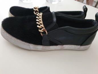 Nästan NYA! 38 ADIDAS sneakers coola retro bask.. (364811989