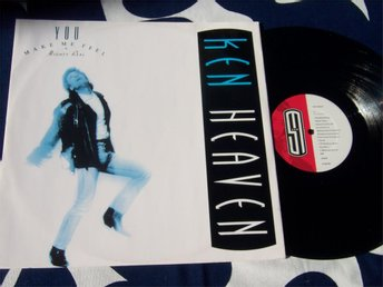 "KEN HEAVEN - YOU MAKE ME FEEL 12"" 1988 UK"