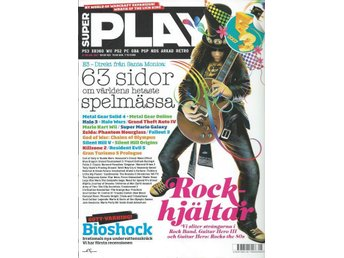 SUPER PLAY  NR 138 -ROCK HJÄLTAR ....