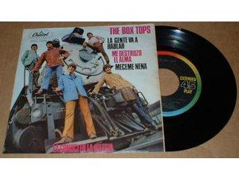 "BOX TOPS PEOPLE GONNA TALK 7"" Vinyl - älmhult - BOX TOPS PEOPLE GONNA TALK 7"" Vinyl - älmhult"