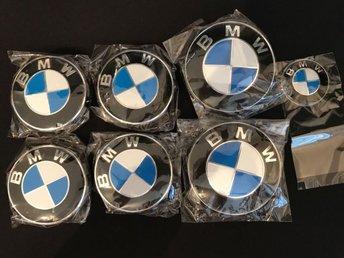 Bmw emblem vit/blå set 7-delar - Motala - Bmw emblem vit/blå set 7-delar - Motala