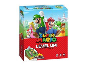 Super Mario Boardgame Level Up