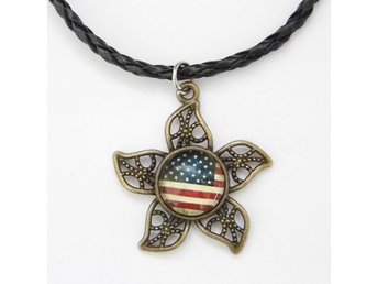 USA Flagga Halsband / USA Flag Necklace
