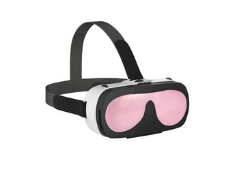 VR-Glasögon 3D Headset - Rosa