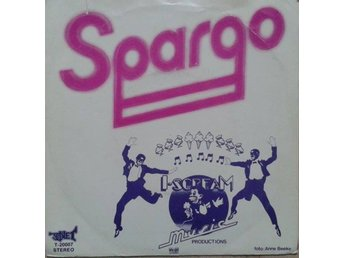 "Spargo title* You And Me* Disco 7"" SWE"