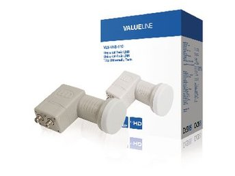 Valueline Universal LNB Twin 0.3 dB