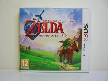 Nintendo 3DS Zelda Ocarnia of time 3D i nyskick