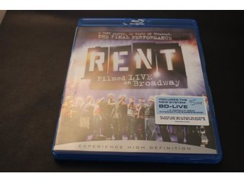 Bluray-film: Rent (Filmed live from Broadway)