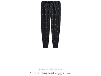Ralph Lauren, Polo Ralph Lauren, All Over Pony jogger/sleep wear, mjukisbyxor