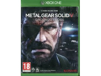 "Xbox One-spel ""Metal Gear Solid - Ground Zeroes"""