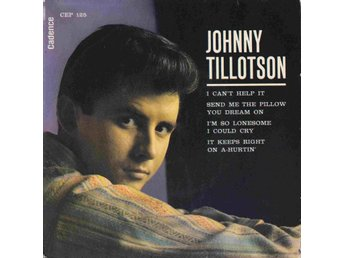 JOHNNY TILLOTSON - I CAN'T HELP IT - EP 1962 NO RECORD