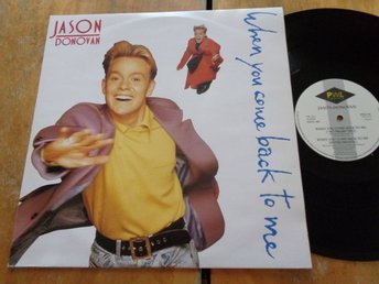 "Jason Donovan ""When You Come Back To Me"""