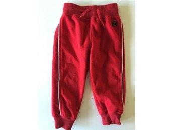 Röd fleece byxa polarn och pyret storlek 86 - Saltsjö-boo - Röd fleece byxa polarn och pyret storlek 86 - Saltsjö-boo