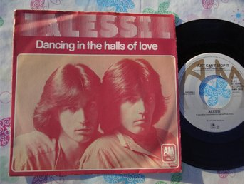 "ALESSI - DANCING IN THE HALLS OF LOVE 7"" 1978"