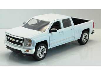 Chevrolet Silverado vit Skala 1-24 - Degerfors - Chevrolet Silverado vit Skala 1-24 - Degerfors