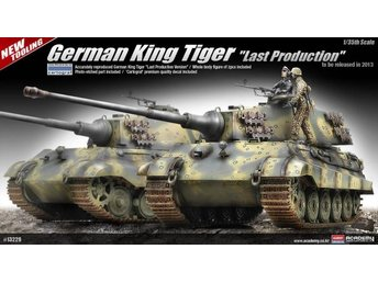 Academy 1/35 King Tiger, last production - Lund - Academy 1/35 King Tiger, last production - Lund