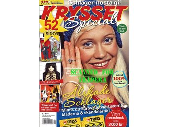 Crossword Special, crossword magazine, this issue Eurovison Song Contest. ABBA,