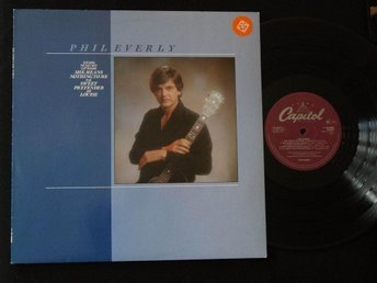 PHIL EVERLY (M-) – S/t LP / Capitol Records 1983 / Everly Brothers