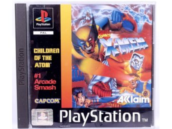 X-Men: Children of the Atom - PS1 - PAL (EU)