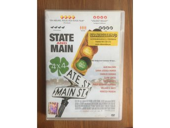 STATE AND MAIN - PHILIP SEYMOUR HOFFMAN - DVD Mkt Bra Skick!