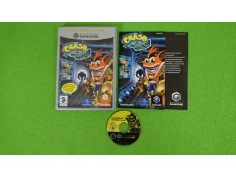 Crash Bandicoot Wrath of Cortex KOMPLETT Gamecube Nintendo Game Cube
