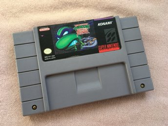 Turtles Tournament Fighters (SNES Super Nintendo NTSC-U)