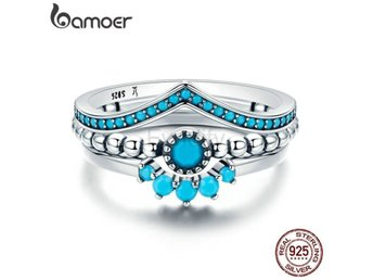 Ring Finger for Women Engagement Jewelry SCR368 size 7
