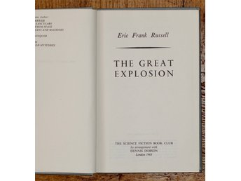 ERIC FRANK RUSSEL, The Great Explosion