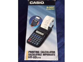 CASIO PRINTING CALCULATOR HR-8B