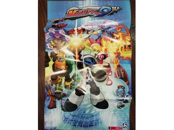 Mighty No. 9 Poster Affisch Playstation Xbox Game Tv-spel Nintendo