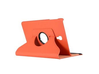 360° Rotation Fodral Till Samsung Galaxy Tab A 10.5 (T590) ORANGE