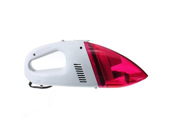 12V Mini Car Portable Handheld Vacuum Cleaner Red 60W Hig...