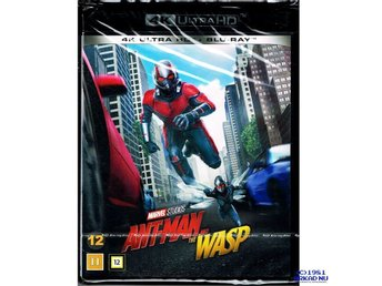 ANT-MAN AND THE WASP 4K ULTRA HD + BLU-RAY - NY INPLASTAD