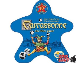 Carcassonne The Dice Game (Svensk Version)