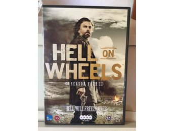Hell on Wheels säsong 4-Dvd-Box  i toppskick