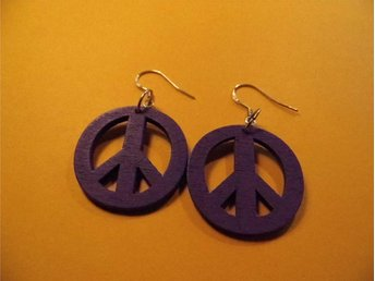 Fred örhängen / Peace earrings
