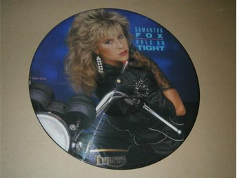 Samantha Fox - Hold On Tight UK-86 (Picture Disc)