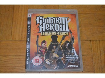Guitar Hero 3 Legends Of Rock Playstation 3 PS3 - Töre - Guitar Hero 3 Legends Of Rock Playstation 3 PS3 - Töre