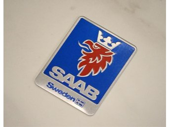 SAAB badge logo styling